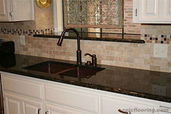 Interior Design Uba Tuba Backsplash Pics Custom Backsplash With Uba Tuba Granite