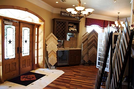 Epic Flooring Showroom - Conveniently located on main street in Boerne, Texas
